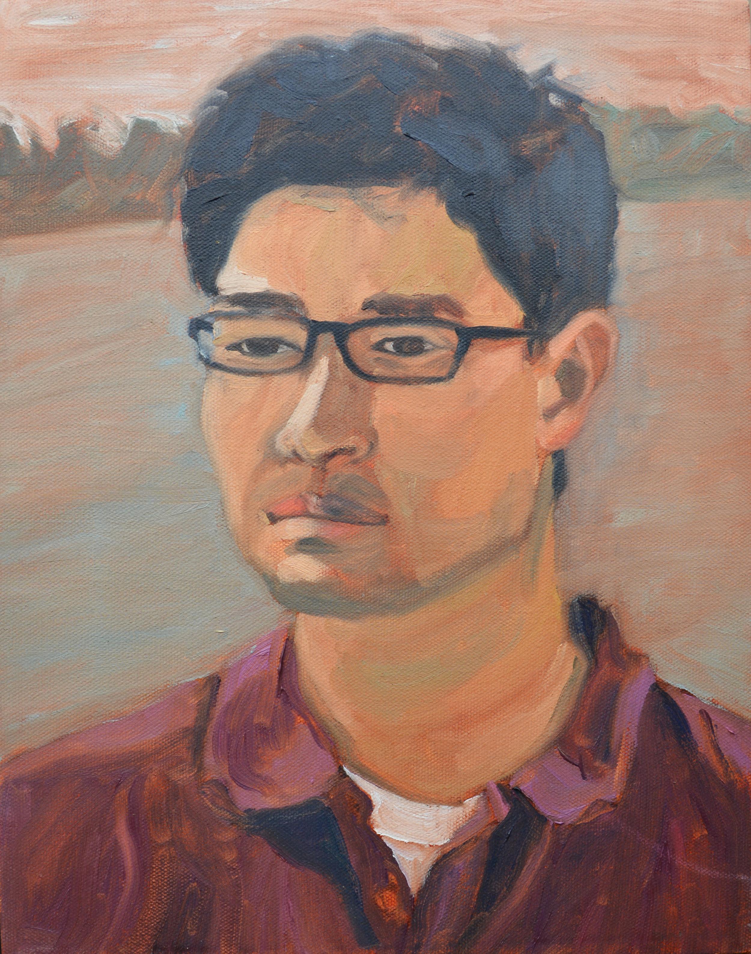 "John, 11x14"", oil on canvas, 2011"
