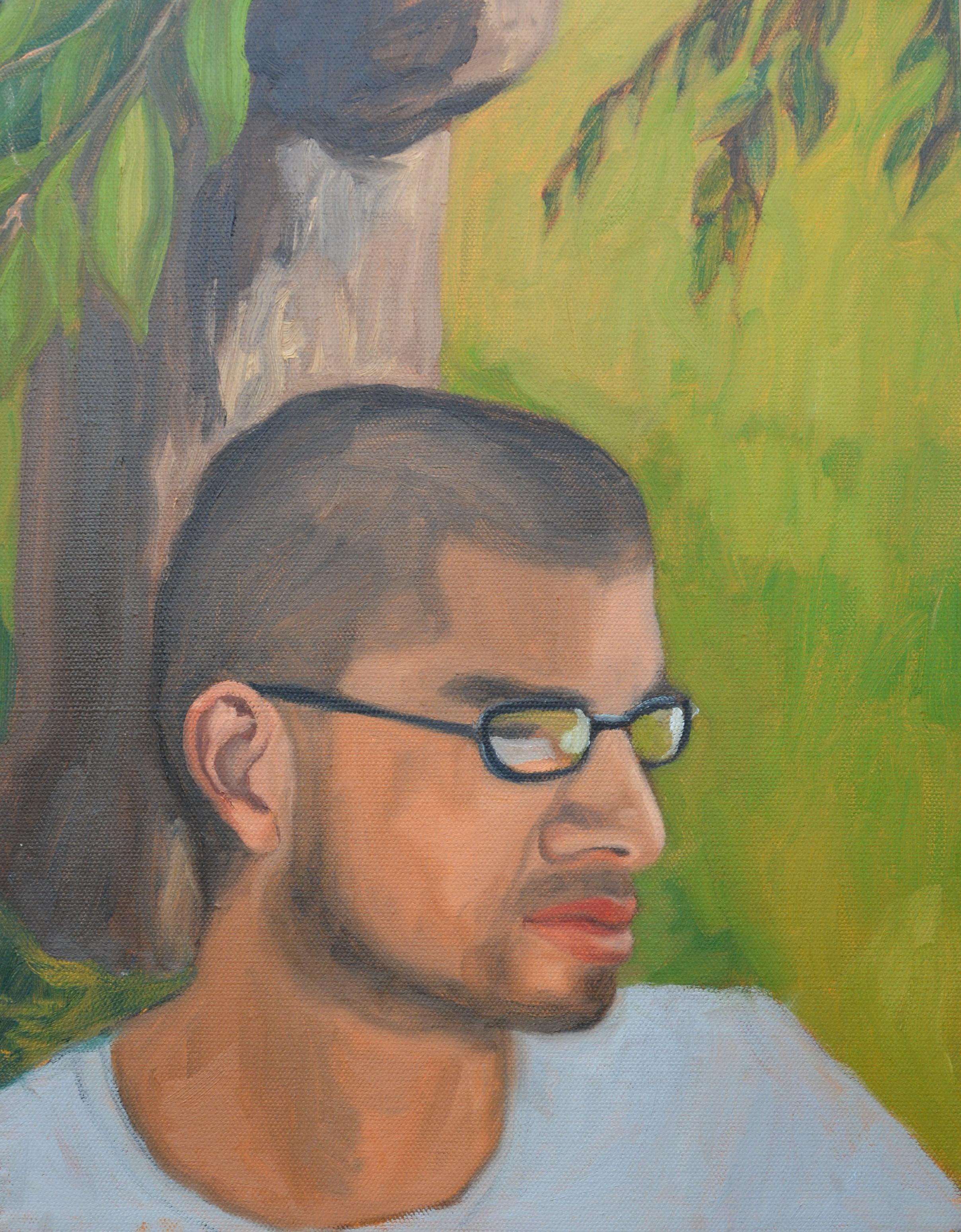 """Roberto, 11x14"""", oil on canvas, 2011"""