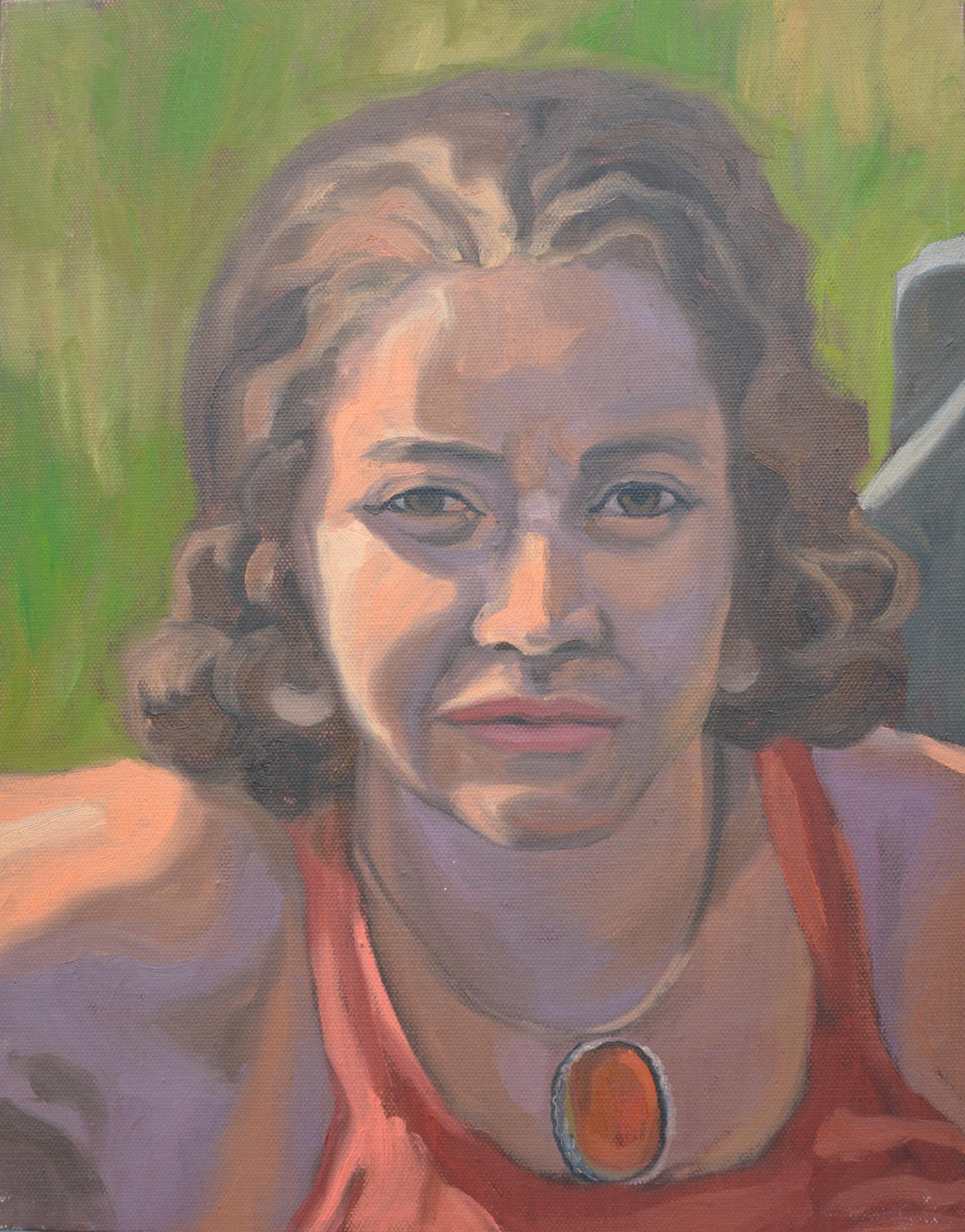 "Michaelanne, 11x14"", oil on canvas, 2011"