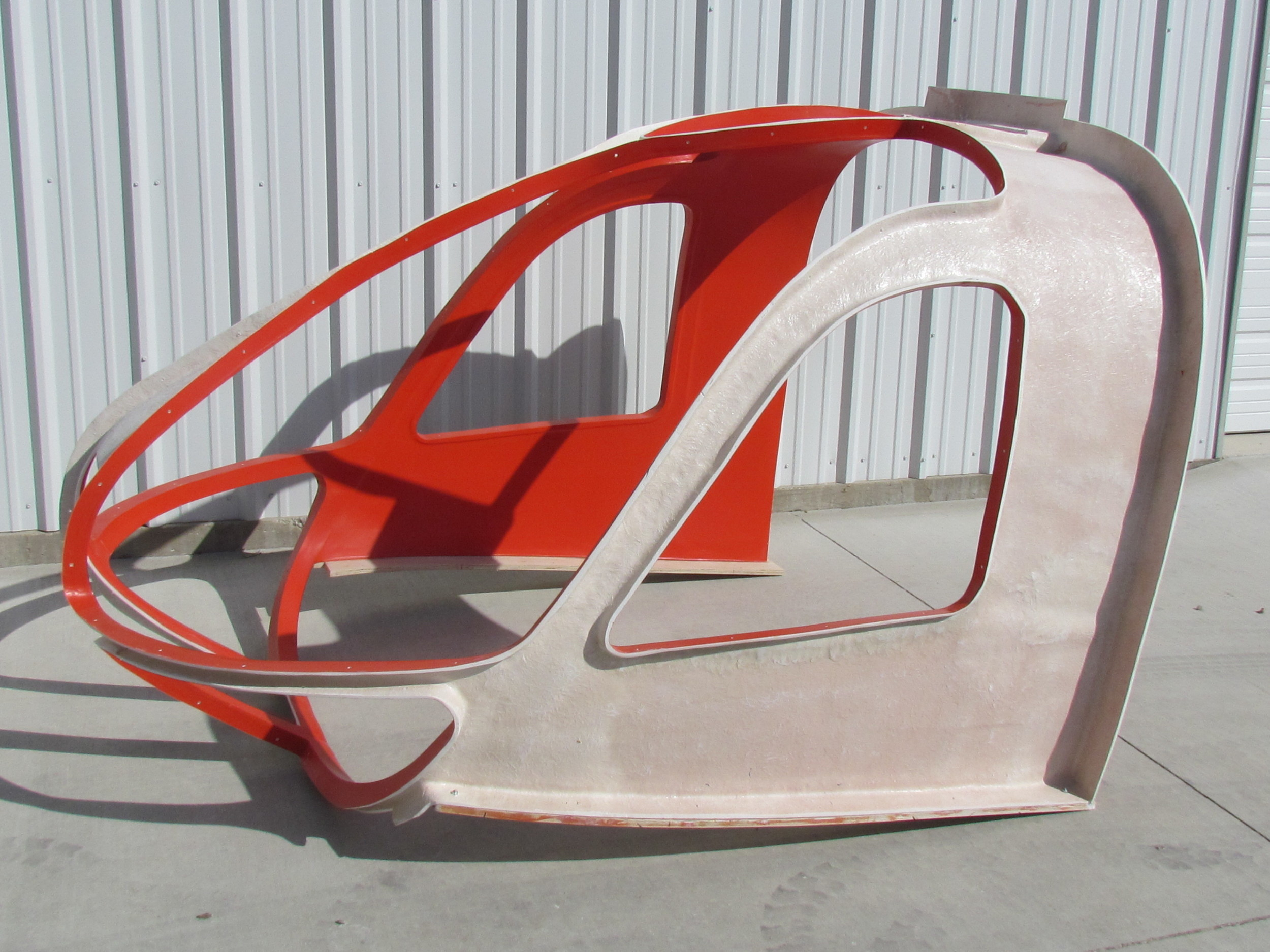 Eurocopter Helicopter Cockpit Mold