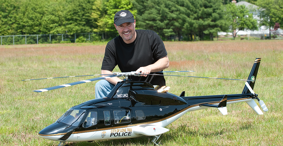 Ever the nerd, Kranitz enjoys flying and tinkering with jet helicopter modles