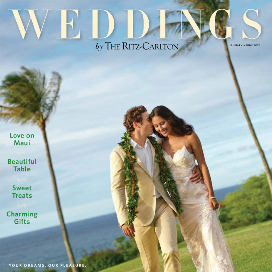 Ritz Carlton Weddings Cover Jan-June 2012