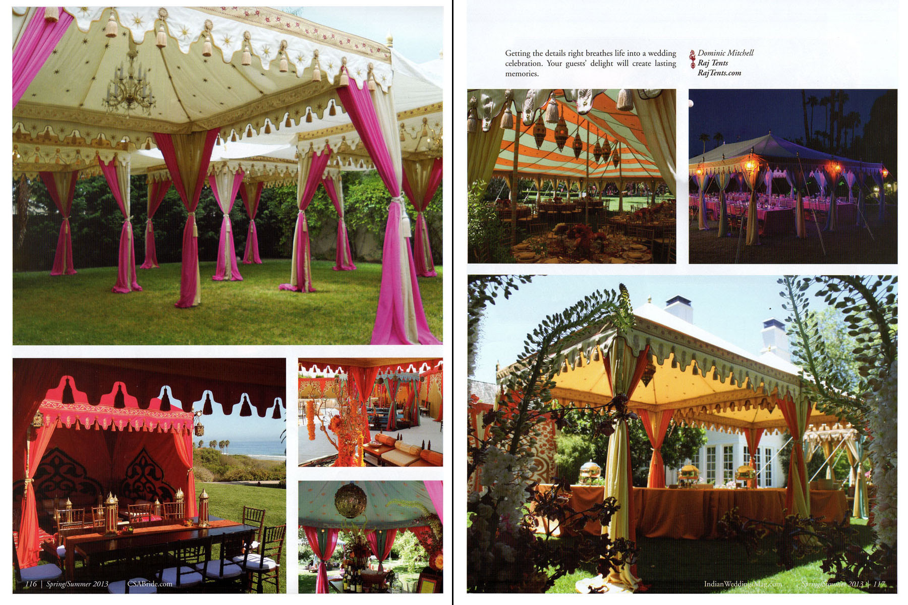 Raj Tents Magical Outdoor Weddings 3