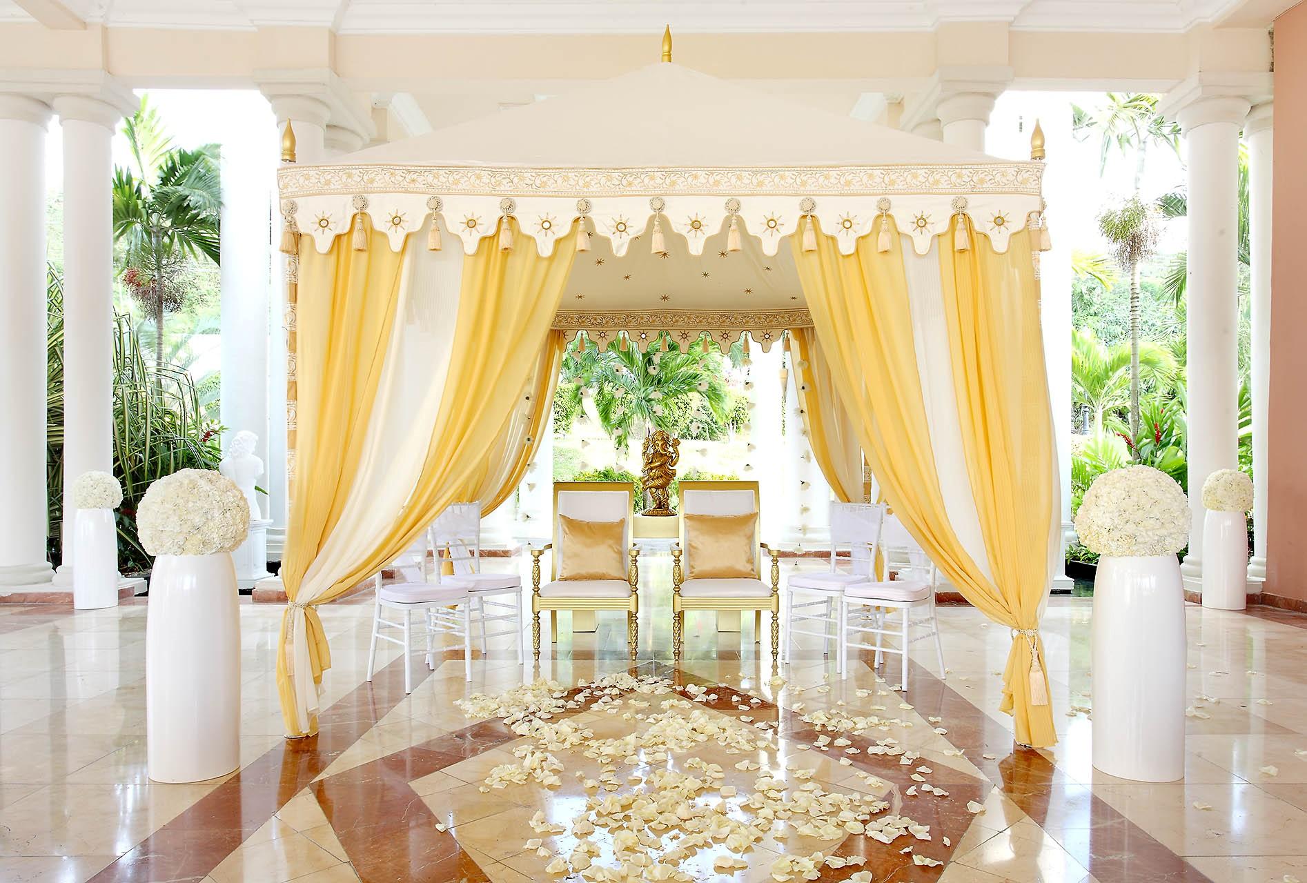 Raj Tents Grand Palladium Karen Bussen Indian Wedding Pergolas 2