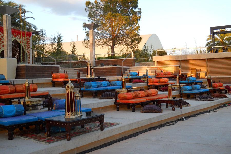 Raj lounge in blue and orange vegas poolside.jpg