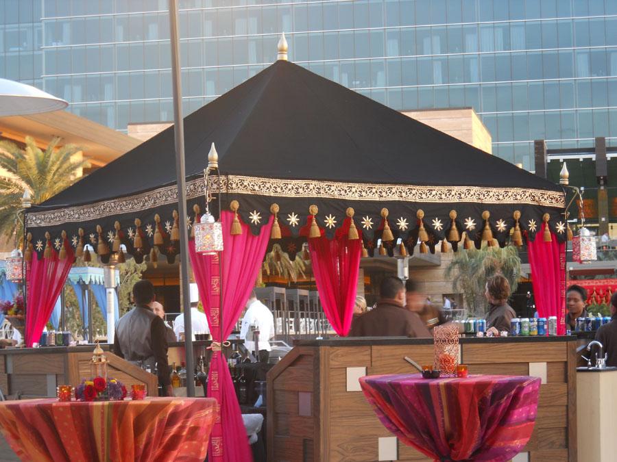Black pink and orange perogla bar set up.jpg