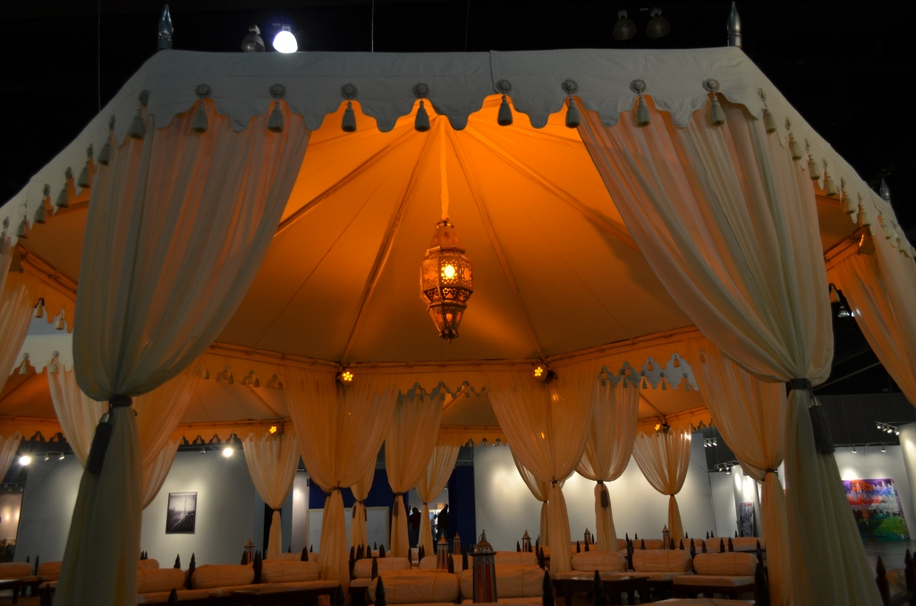 Raj Tents LA Art Show UAE Exhibit 1.JPG