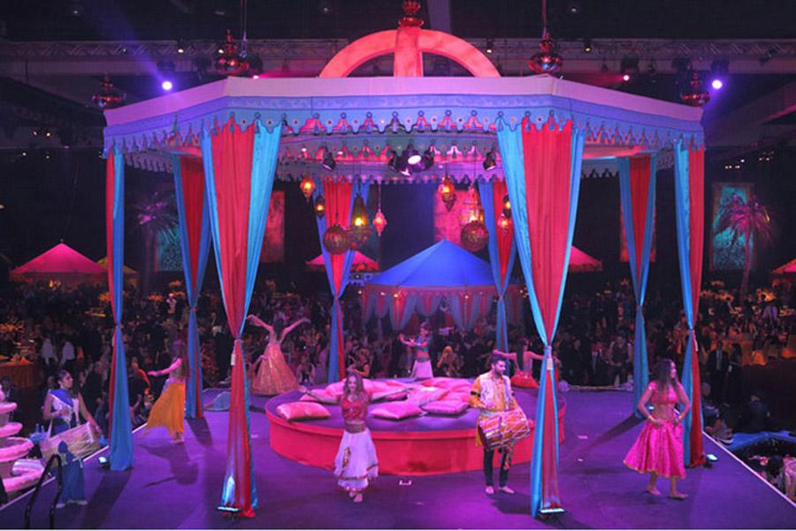 Passage To India Grammys 2013 Raj Tents6.JPG