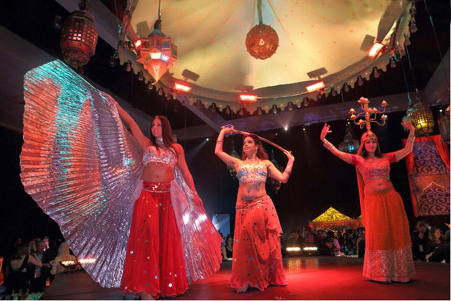 Passage To India Grammys 2013 Raj Tents5.JPG