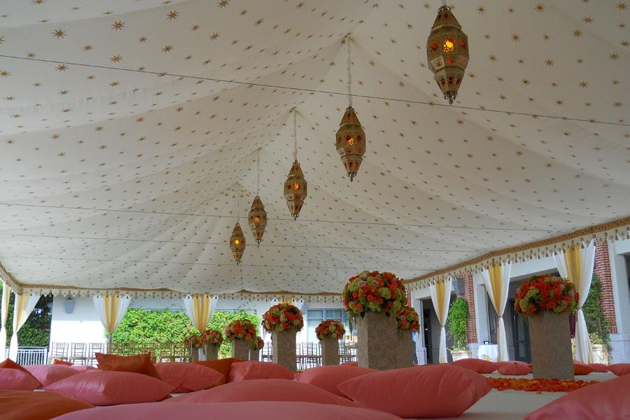 Raj Tents luxury Indian Wedding Ceremony Tent pink and cream.jpg