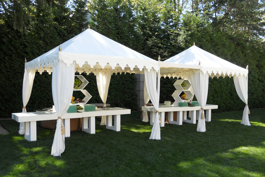 Raj Tents Luxury Bar Food Service Tents white theme.jpg