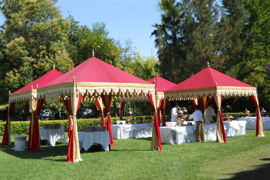 Raj Tents Quadruple Indian Themed Luxury Indian themed Buffet tents.jpg