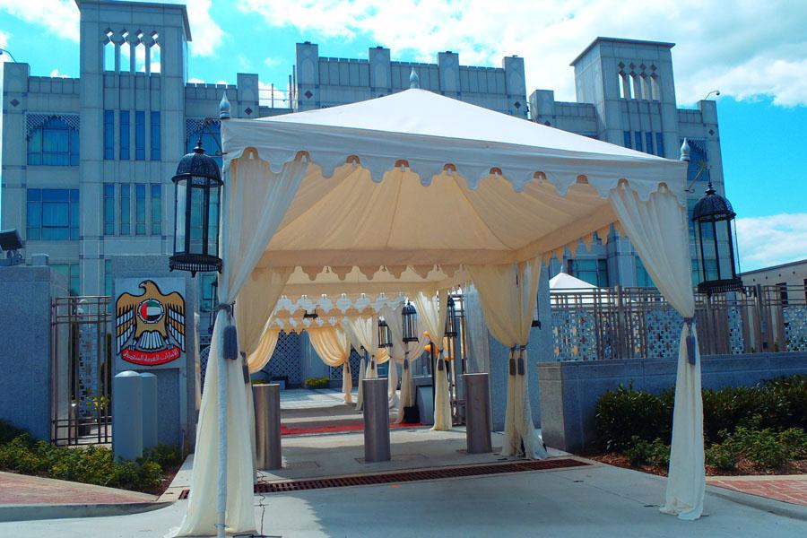 Raj Tents Luxury Cabana UAE Embassy Entrance.jpg