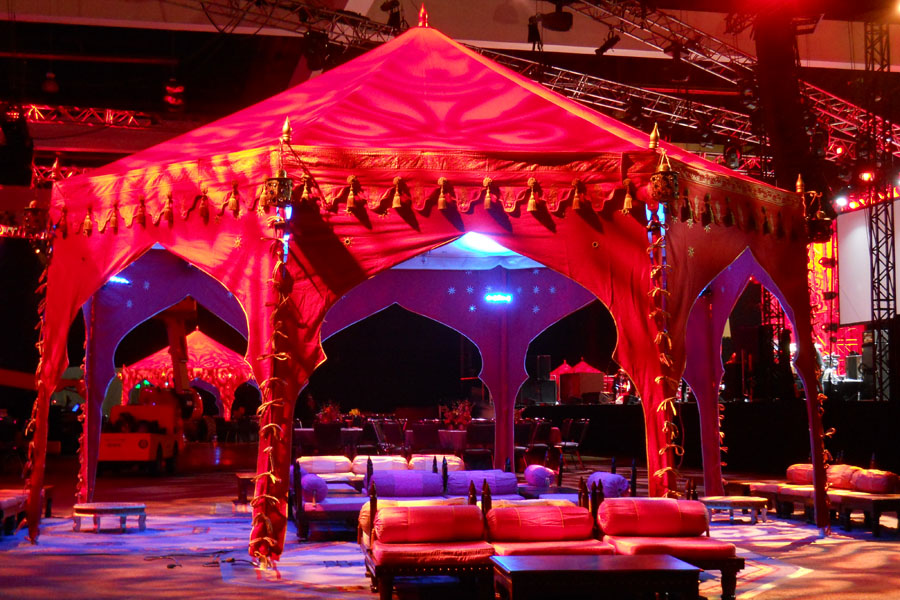Grammys 2013 After Party Raj Tents Arched Pavilions with lounge.jpg