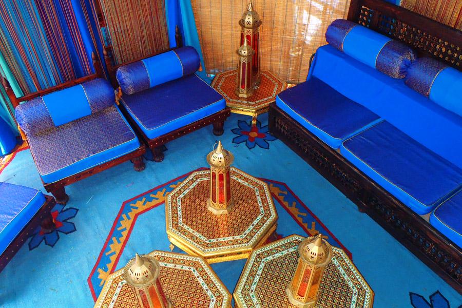 Blue silk raj tents furniuture lounge.jpg