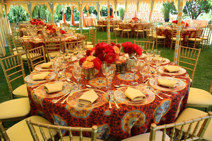 Grand Maharaja in Dove Egg and Sand dining tables.jpg