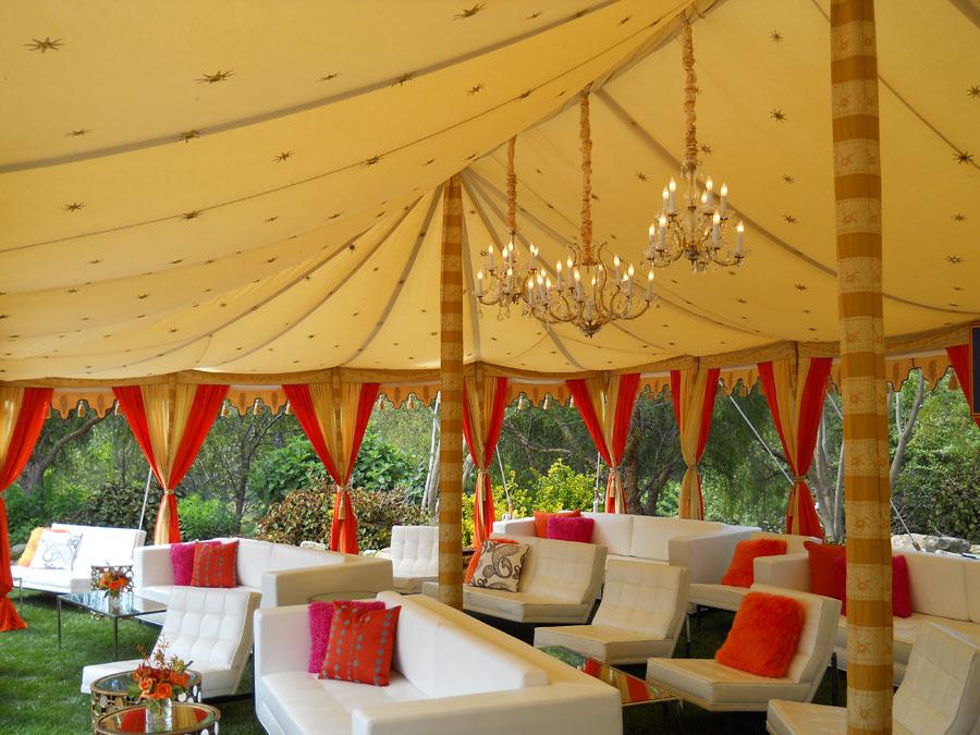 Raj Tents luxury tent Maharaja lounge  WIPA   Malibu 2011.jpg