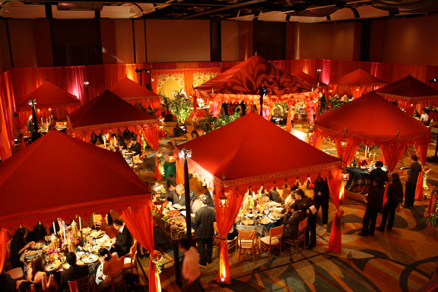 Raq Tents Moroccan Ballroom transformation David Tutera My Fair Wedding belly dancing bride.jpg