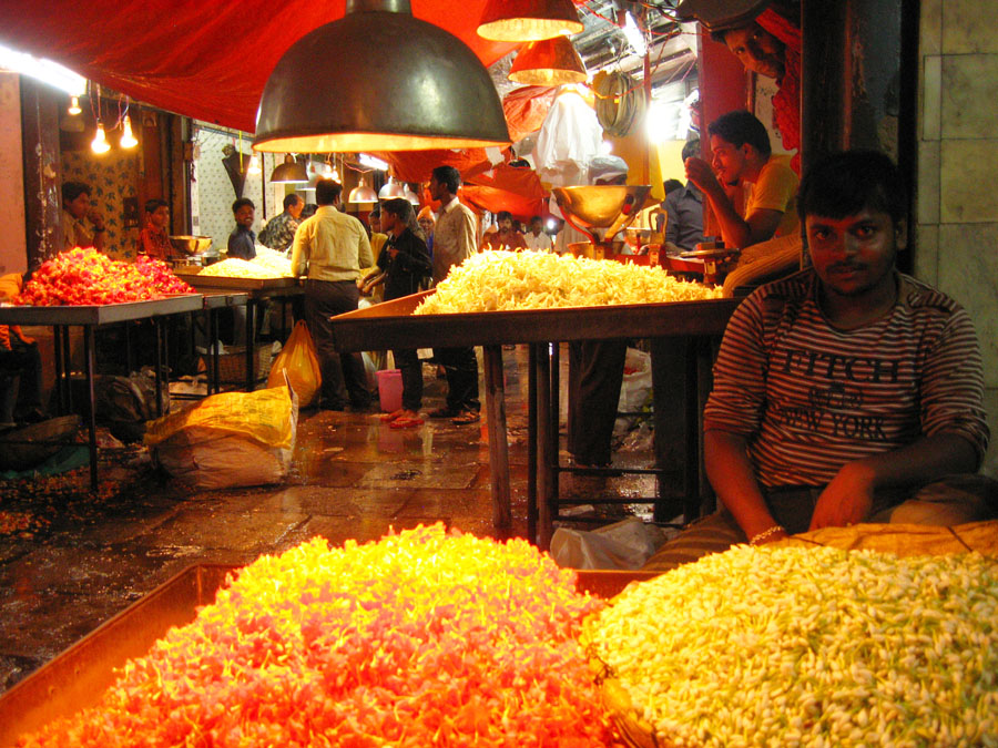 Mysore market flower vendors.jpg
