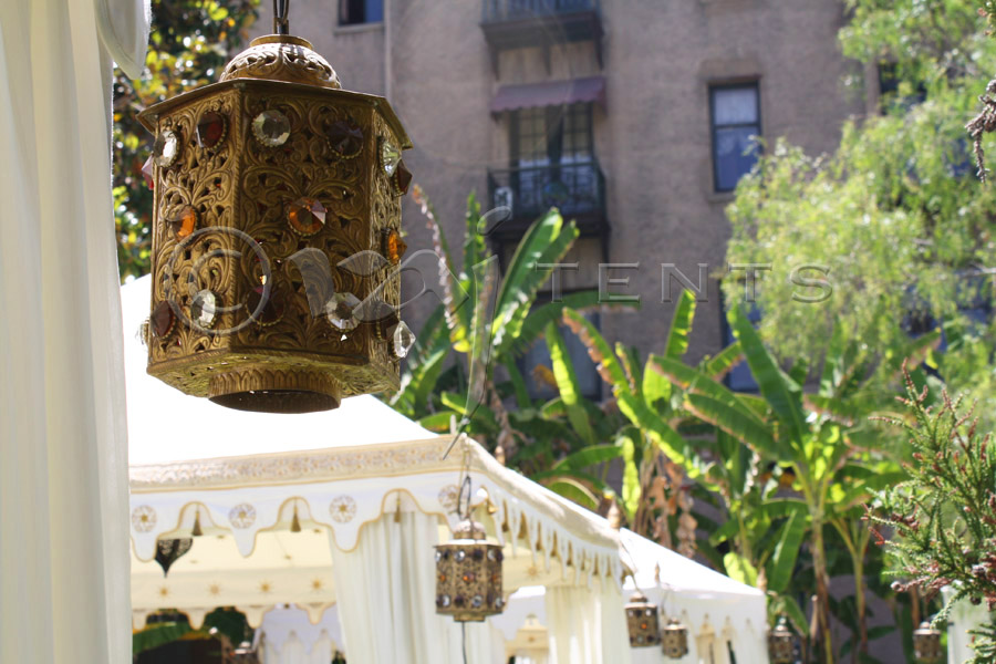 Pergolas with Hexagonal jewel lamps.jpg