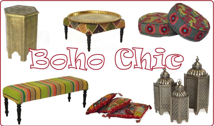 Raj Tents Boho Chic lounge furniture