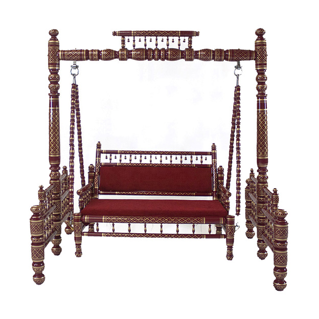 Indian Wedding Swing Red front.jpg