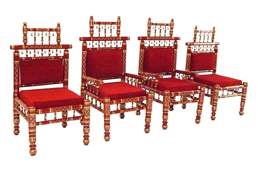 Raj Tents Indian Wedding Throne Red side.JPG