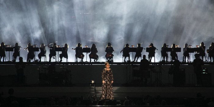 ADELE, LIVE IN NYC (RADIO CITY MUSIC HALL)