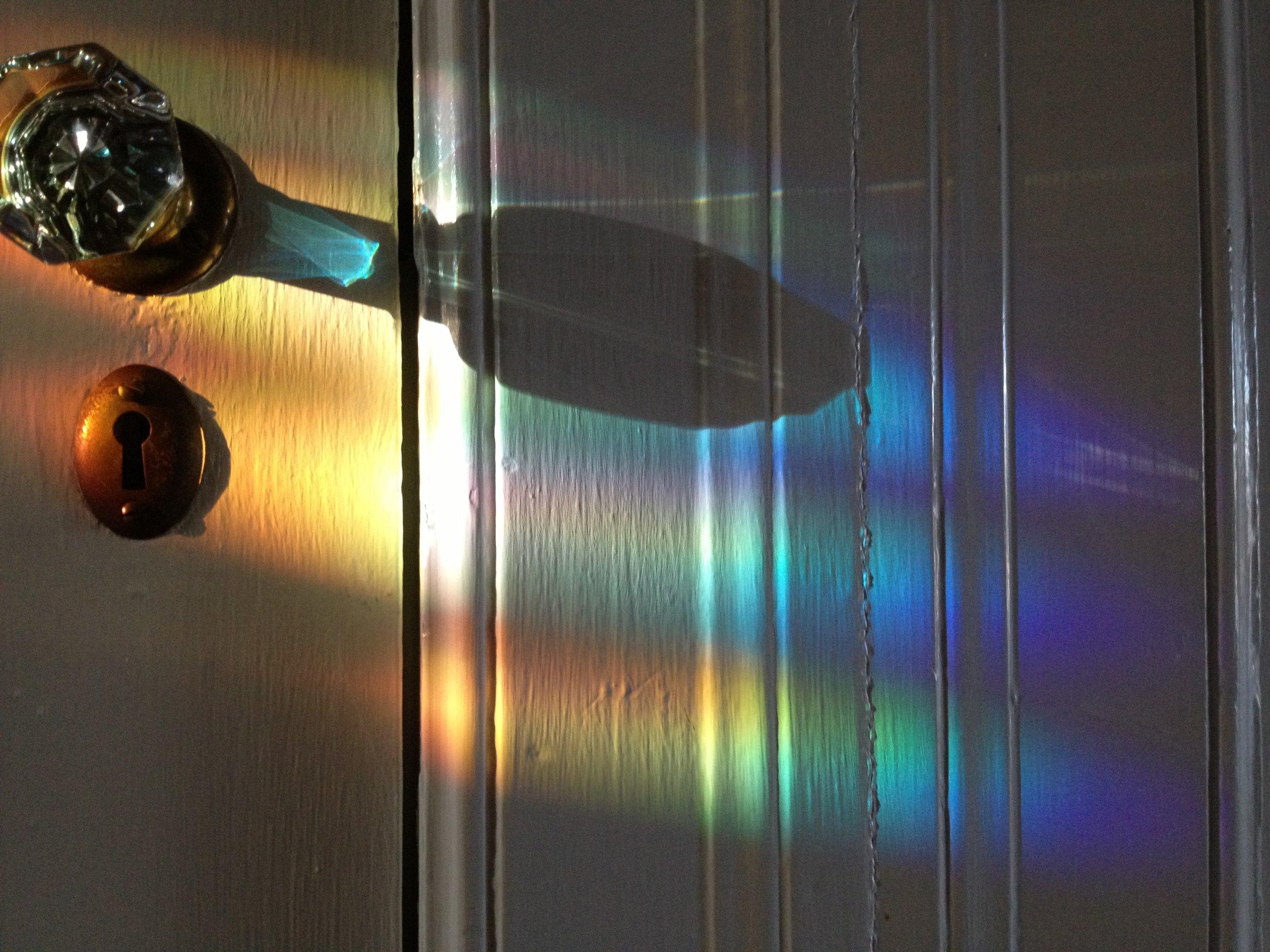 Refracting Door Knob