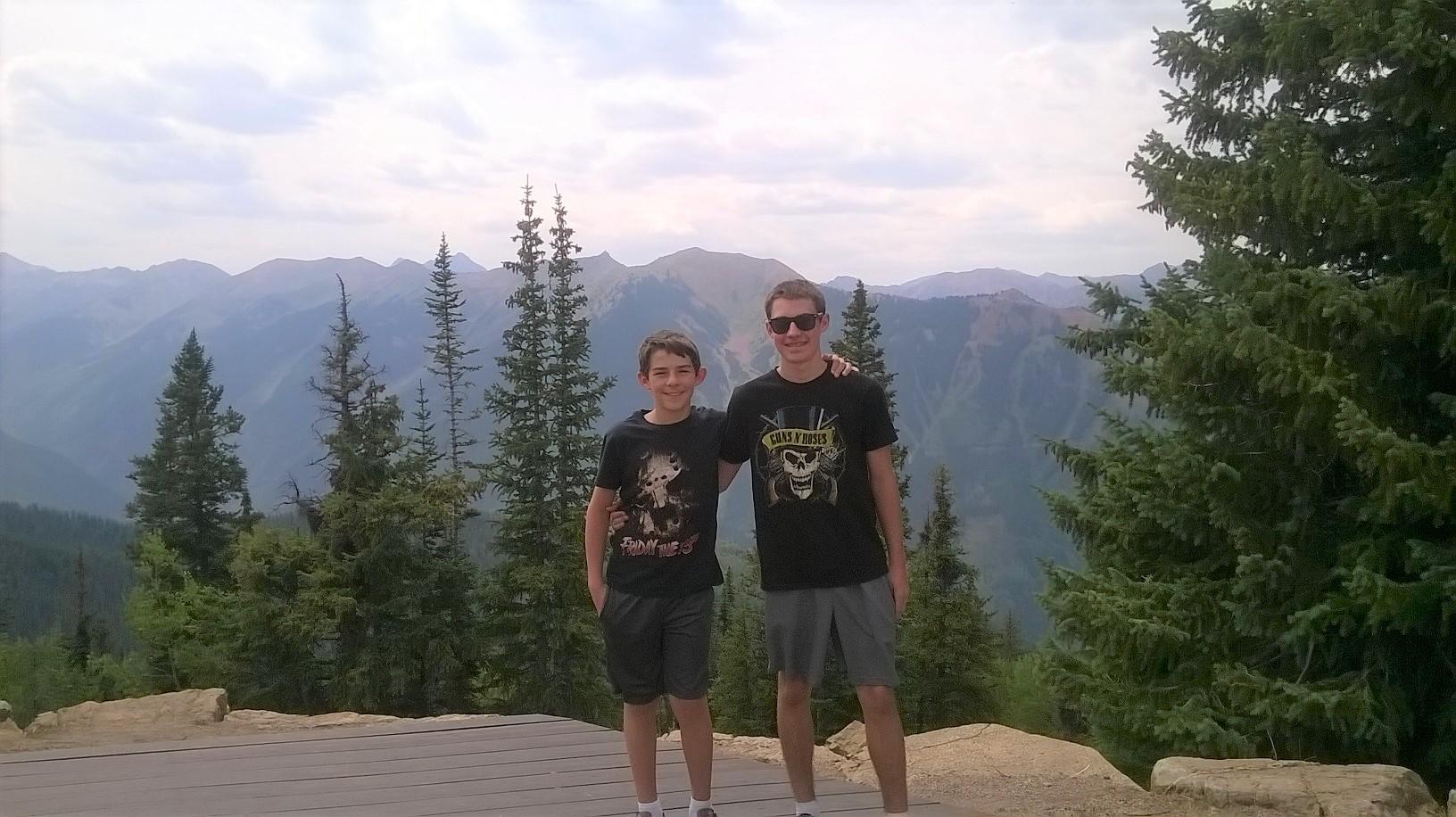 Brothers, Luke and Jack Hamm