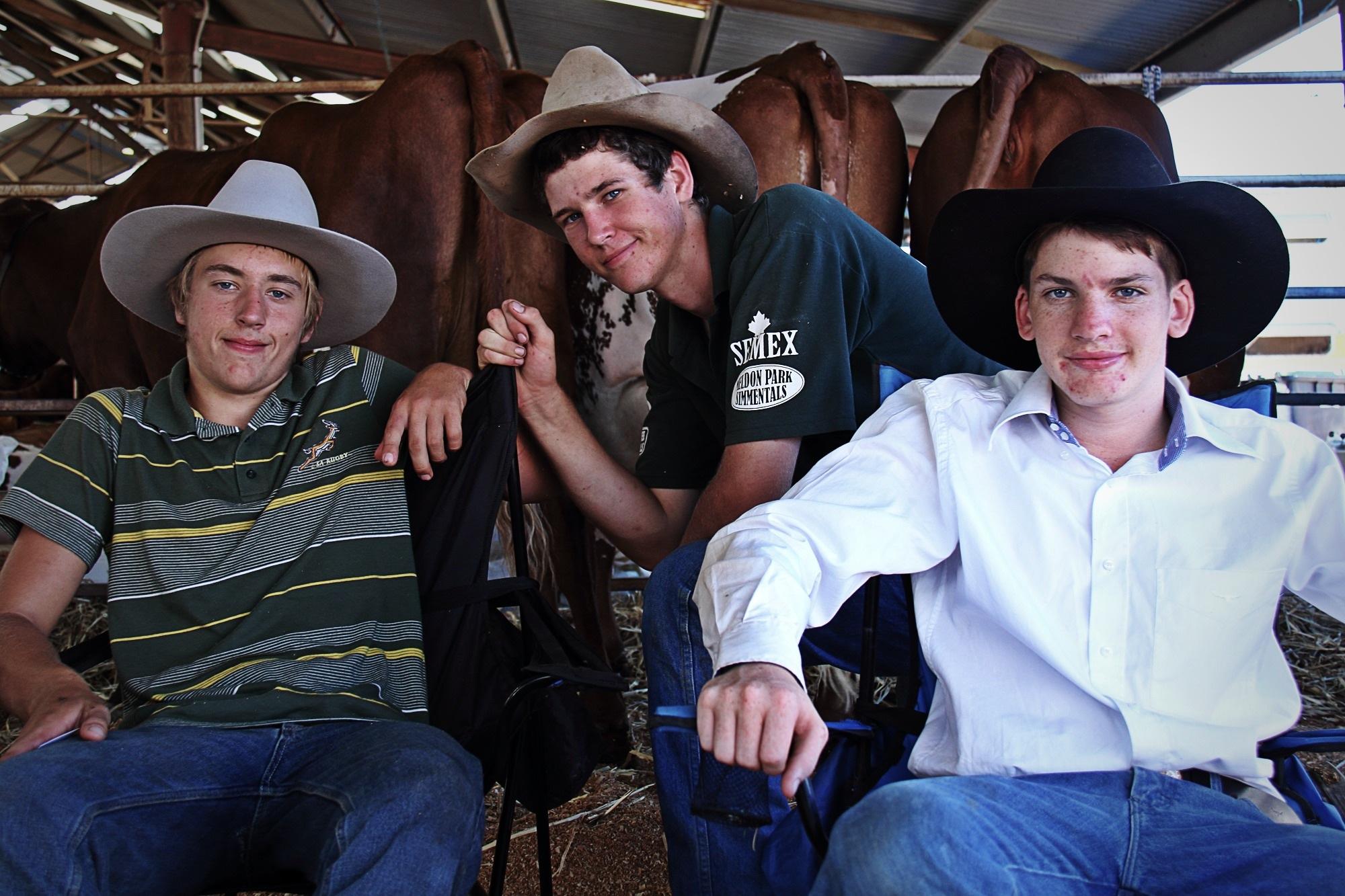 Keegan, Anthony & Cameron