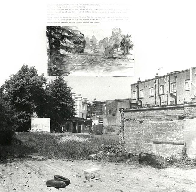 Westway urban landscape project.Collage.1977