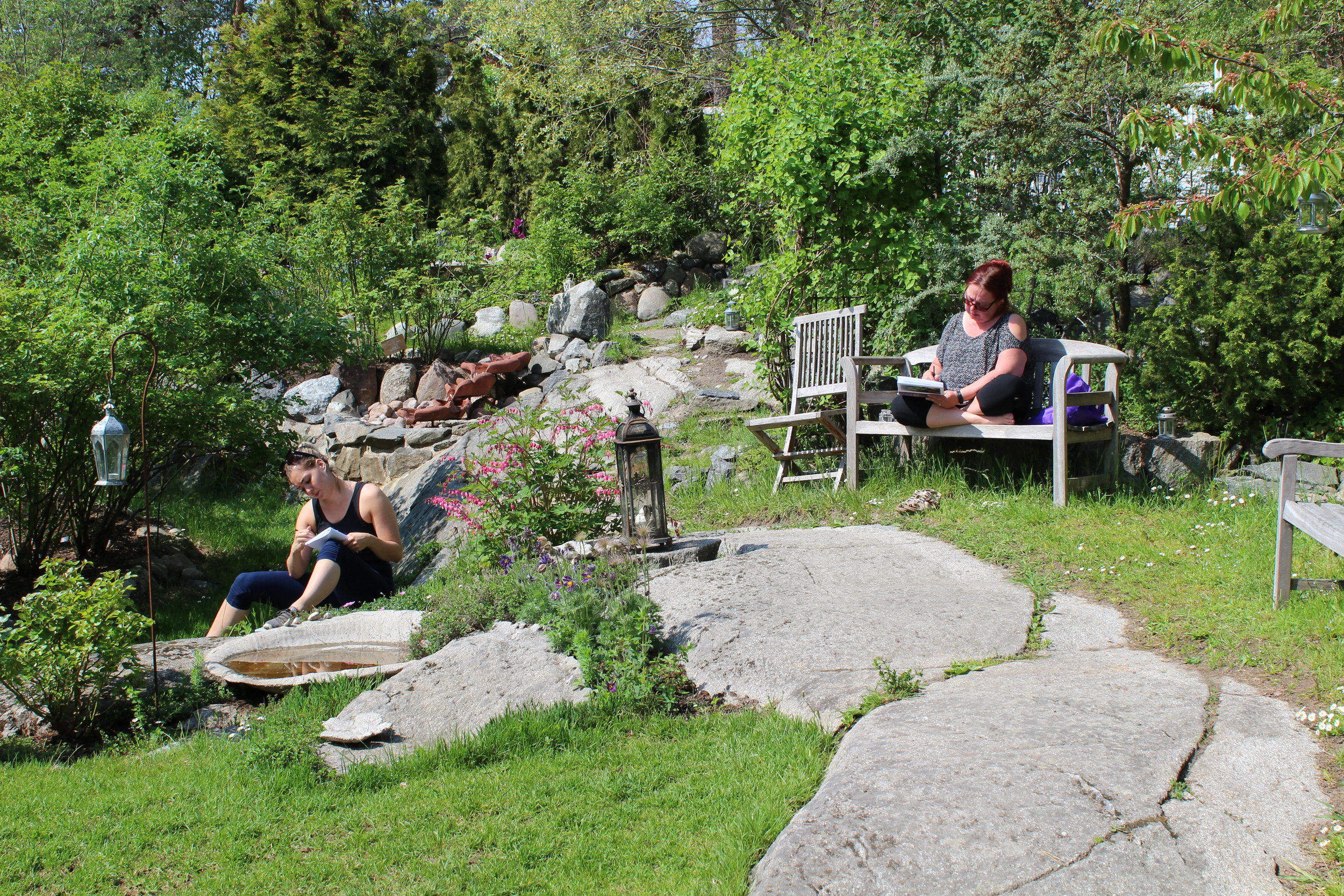 Läkande trädgård Tillitsverket