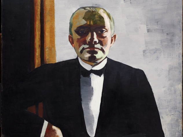 the paintings of Max Beckmann