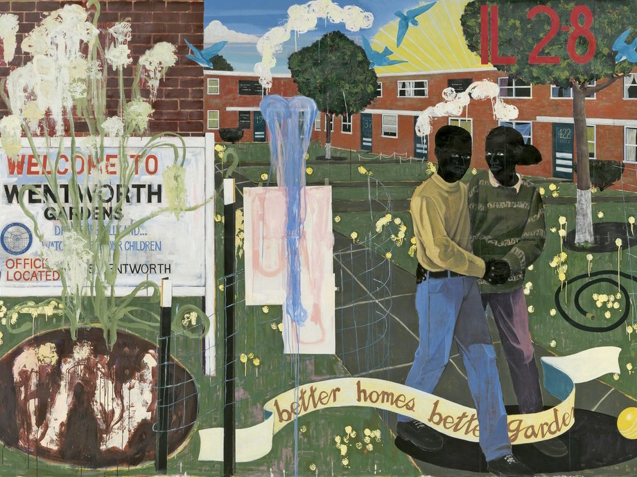the paintings of Kerry James Marshall