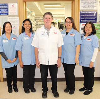 "Times Pharmacy is excited to announce the return of Arthur ""Bud"" Lush, and his team of five staff, to the Times Kamehameha Shopping Center pharmacy."