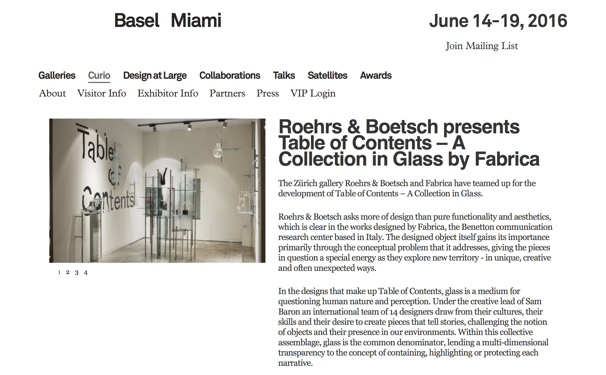 Design Miami Basel Angeles Ortiz