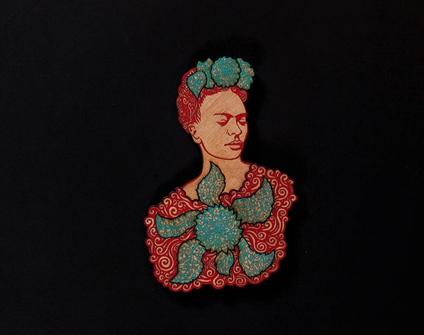 La Dama Turquoise Red