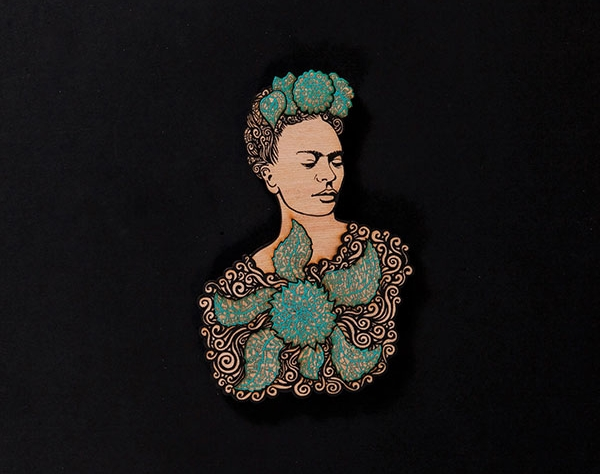 La Dama Turquoise Black