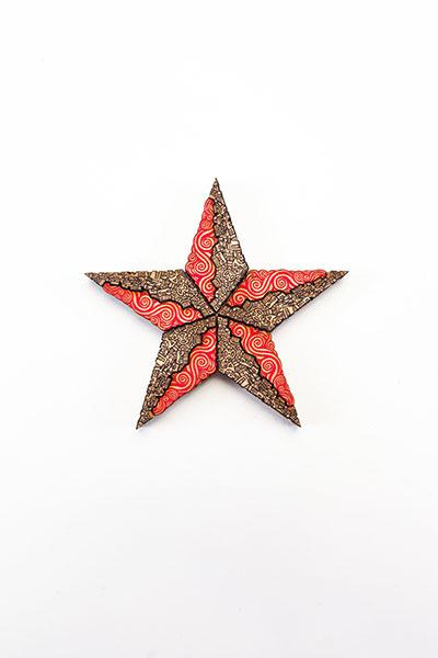 Estrella Red Black