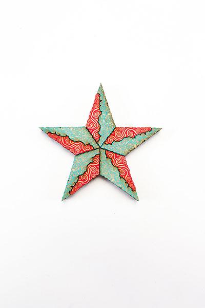Estrella Red Turquoise