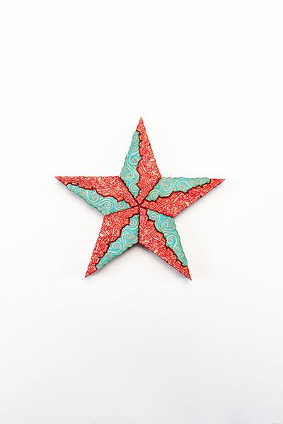 Estrella Turquoise Red
