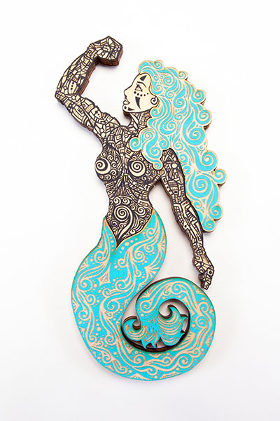 Sirena Black Turquoise