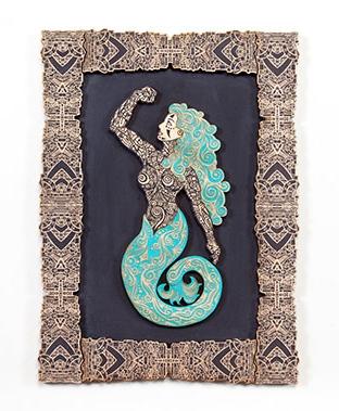 Sirena Loteria Black Turquoise