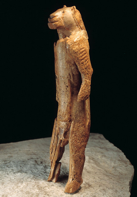 The lion man of Hohlenstein Stadel, c.28,000 BCE