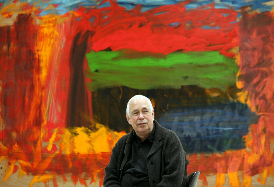 """I am happy for people to talk about my pictures, but I wish devoutly that I was not expected to talk about them myself."" - Howard Hodgkin"