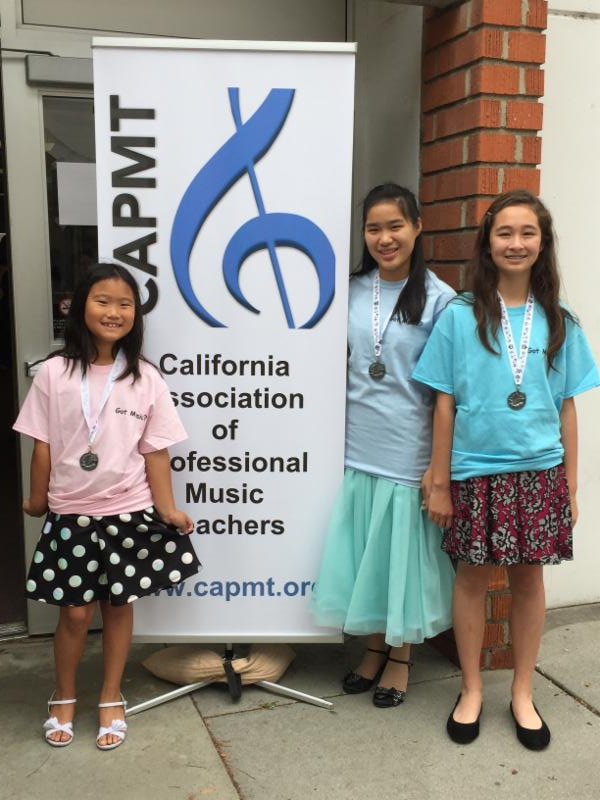 CAPMT PIano Auditions and Ensemble Auditions -