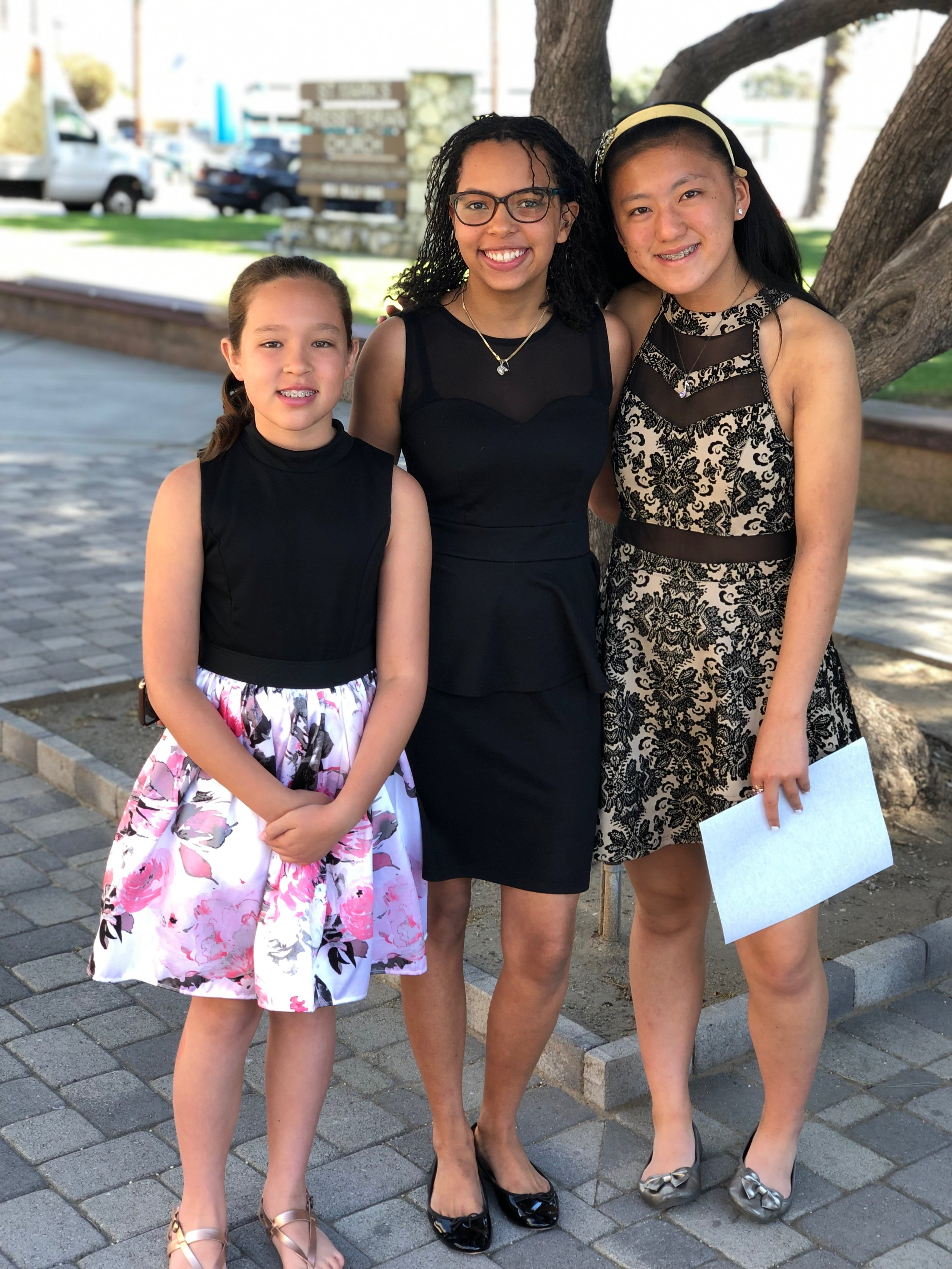 Bach festival 2019 - Congratulations to Mikaela D'Adamo, South Bay Branch winner, Idah Corfitzen, Honorable Mention winner, and Stephanie Wong, Honorable Mention Winner