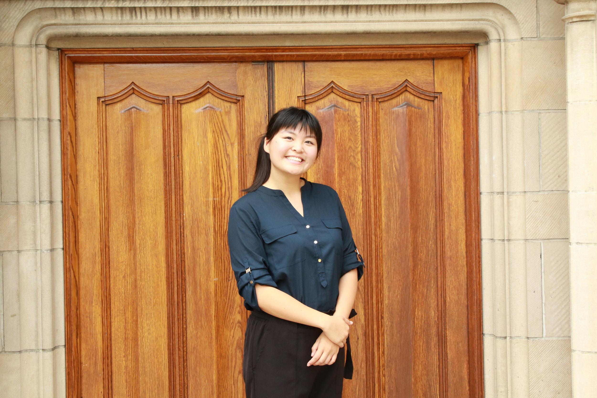 Adele Zhang     Co- Vice President
