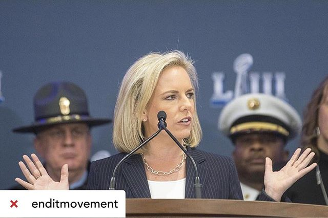 Reposted from @enditmovement  #BREAKING FOUR survivors FREED and 33 traffickers ARRESTED in Atlanta ahead of #SuperBowl LIII!  Just days before kickoff, federal law enforcement officials announced that 33 people have been arrested in the metro Atlanta area on sex-trafficking charges, and 4 survivors have been rescued as part of the operation.  Big sporting events, such as the Super Bowl are known to attract those in sex-trafficking acts, but months of planning for keeping fans safe is already paying off.  Ongoing efforts will continue throughout the week and YOUR awareness is doing work. Tonight, FOUR more survivors are FREE.  Full story: (link in bio) 👊🏼❌#enditmovement